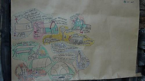 plan du site en construction