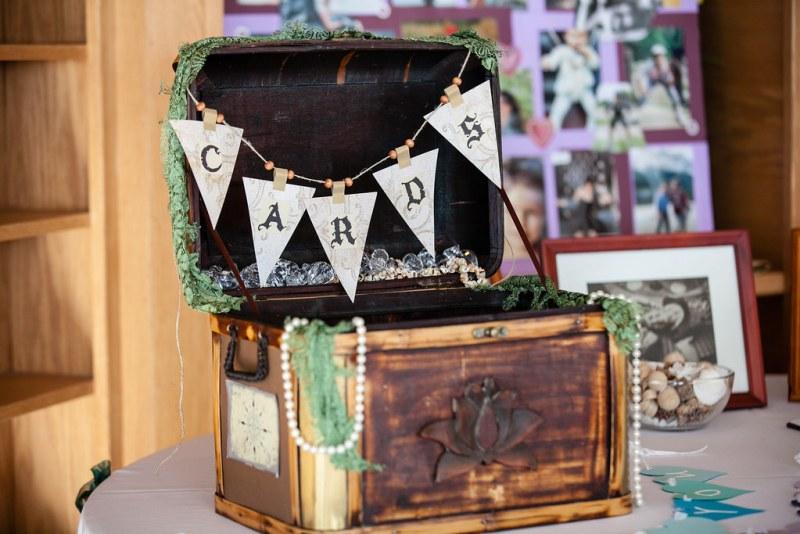treasure chest card box