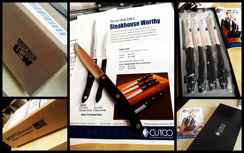The CUTCO steak knives that started it all.