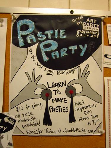 Pastie Party