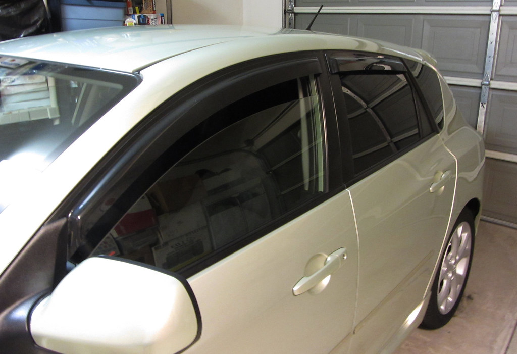 Scion Tc Black Chrome Window