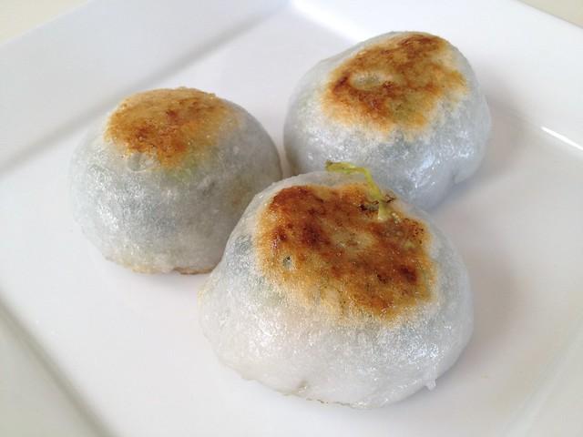 Chinese chive dumplings - Good Luck Dim Sum