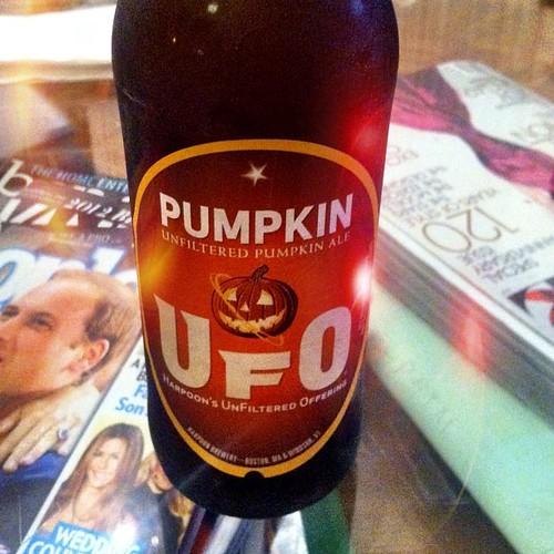 Too early for pumpkin beer? I don't think so.