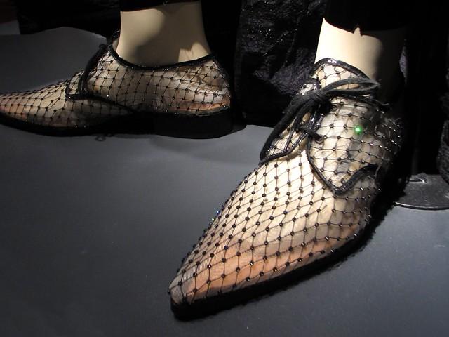 Men's shoes from The Modern Man collection, men's prêt-à-porter FW 1996-1997.