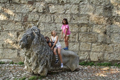 Girls on the Lion