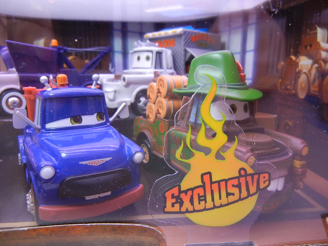 disney store cars 2 mater rama set (3)