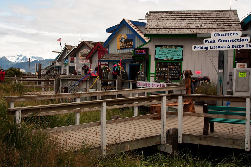 Homer Spit Shops