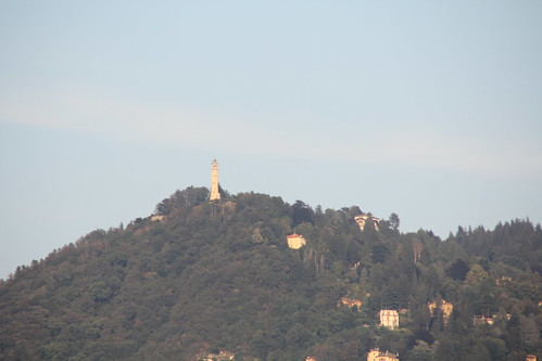 Brunate Lighthouse from Como