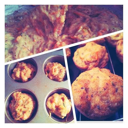 Gluten-Free Carrot Zucchini Muffins