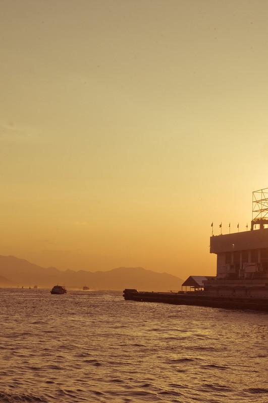 Sunset at Harbor City, HK