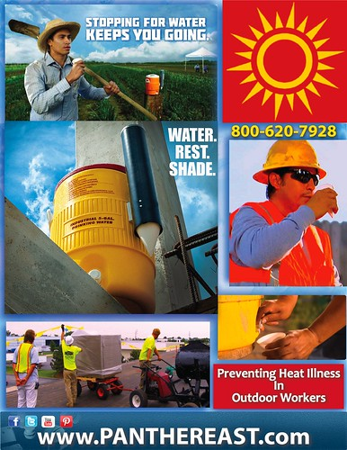 Heat Illness In Outdoor Workers by Panther East