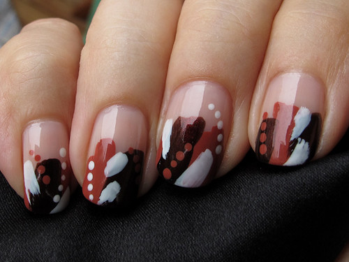 """""""Cave paintings by a blind man"""" -manicure >_<"""