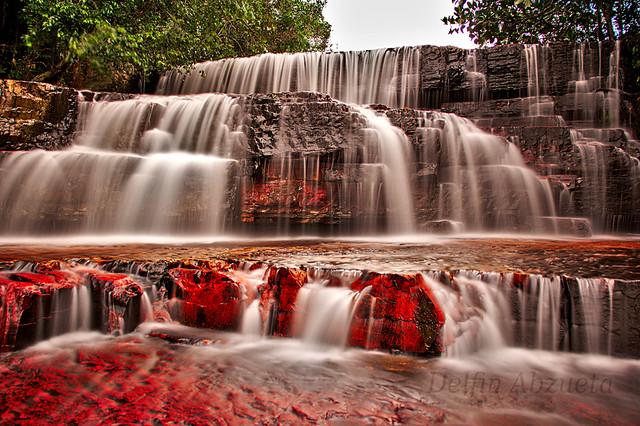 Quebrada de Jaspe - Jaspe Creek Falls