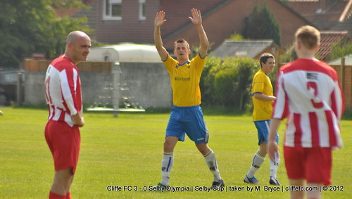 Cliffe FC 3 - 0 Selby Olympia (Selby Cup) 11Aug12