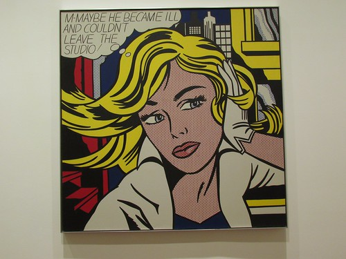 "Roy Lichtenstein: ""M-Maybe"" (1965) by crispyteriyaki"