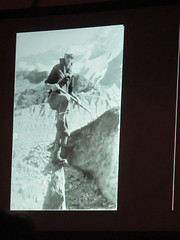 Slide from Elizabeth Knox's Pechakucha talk on The Hermitage and her Dad