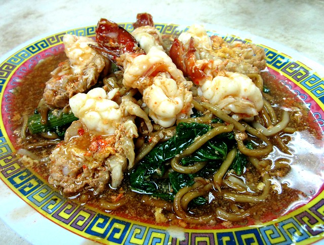 Prawn noodles - Foochow fried