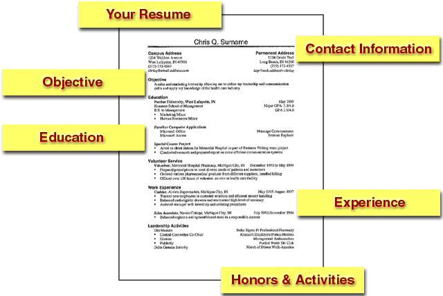 An Effective Resume Example. How To Write An Effective Resume
