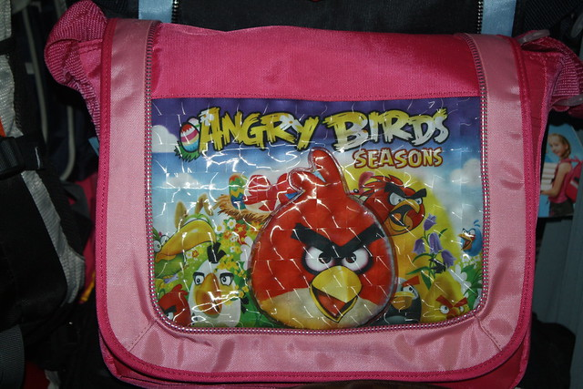 Angry Birds Cambodia School Bag