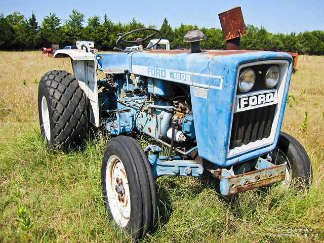 Abandoned Ford Tractor