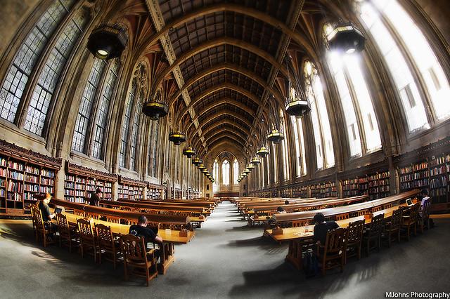 Suzzallo Library.