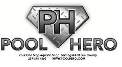 Pool Hero Diomond Plating Logo