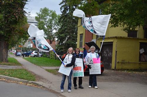 Edmonton Catholic School Board Support Workers' Strike