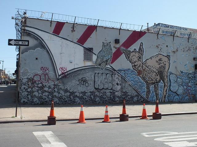 GRAFFITI-Williamsburg, New York