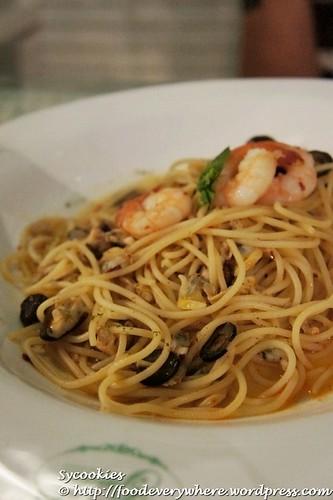 7.olio aglio @ garden RM 18.90