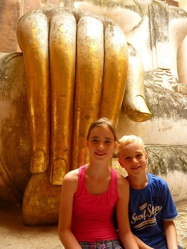 Buddha hand at Wat Si Chu