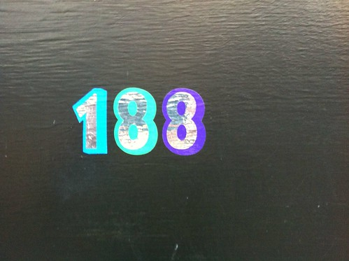 House number of the week. by Simon Sharville
