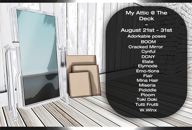 My Attic August 21st Designers