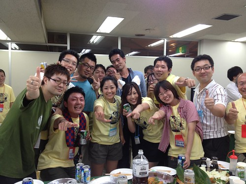 WordBeach Nagoya 2012 懇親会