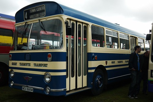 Great Yarmouth Transport AEC Swift, WEX 685M