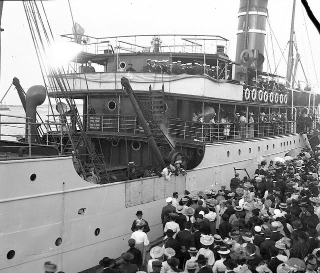The steamship Arcturus, South Harbor, Helsinki