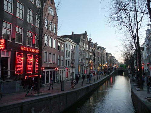 Amsterdam red-light district