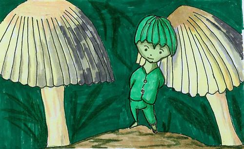 Mushroom elf