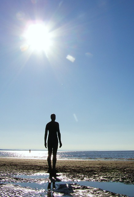 Antony Gormley's Another Place, Merseyside