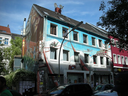 Sternschanze Neighborhood in Hamburg, Germany