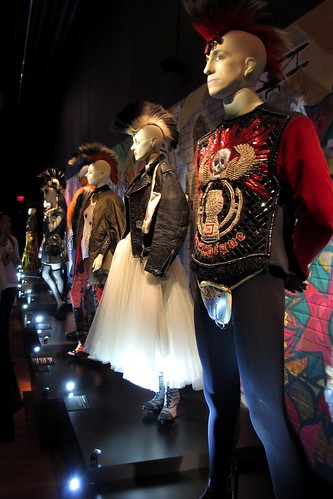 Gaulthique top, leggings, and Cameron codpiece, Rock Stars collection, men's prêt-à-porter FW 1987-1988.