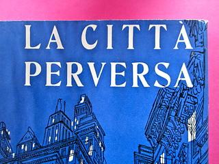 Gore Vidal, La città perversa, Elmo editore 1949. (copia 2) Prima di sovracoperta (part.), 3