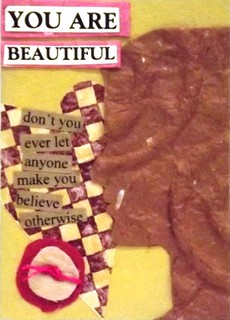 Swap-Bot: You Are Beautiful (Collage)