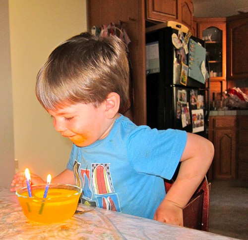 Satchel candles