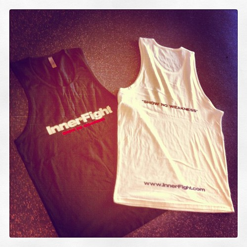 Cotton singlets. #innerfight