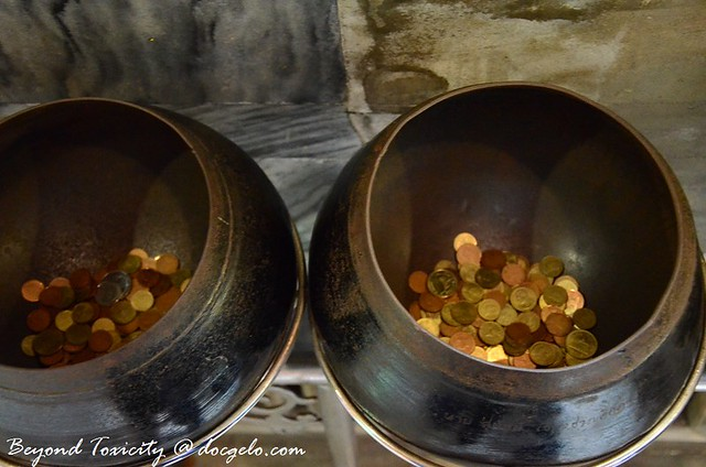 bowls and coins
