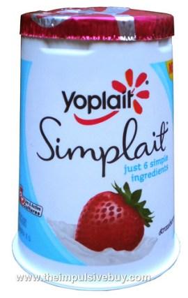 Yoplait Simplait Strawberry Yogurt