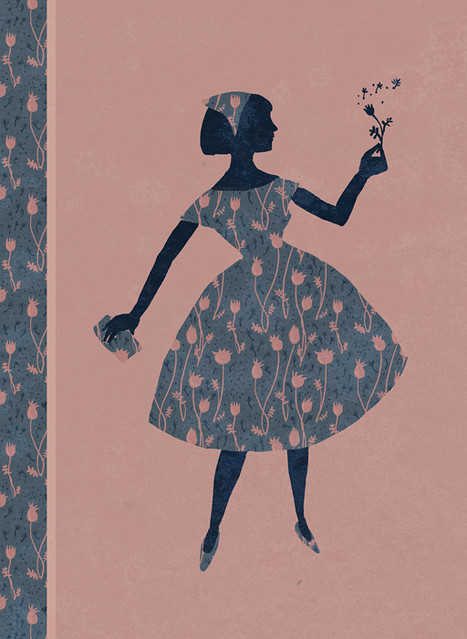 Illustration Friday: Burst