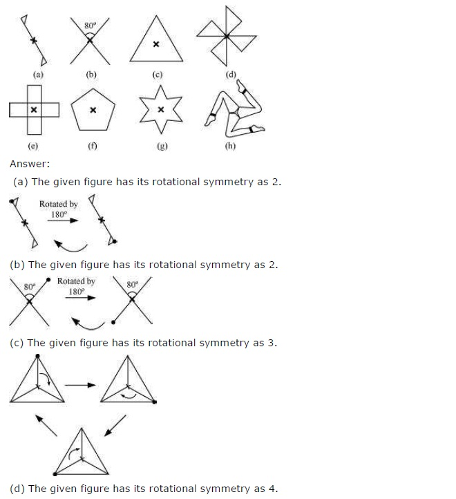 NCERT Solutions for Class 7 Maths Chapter 14 Symmetry Exercise 14.2