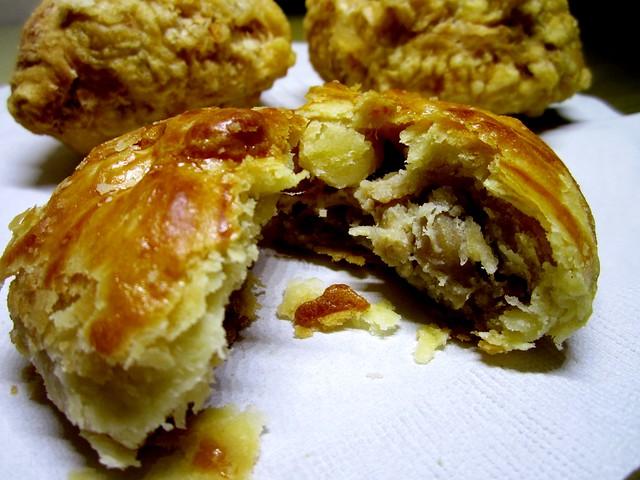 Kuching chicken pastry
