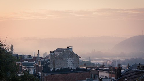 Magic Morning in Mist Valley (Liège, Belgique) - Photo : Gilderic